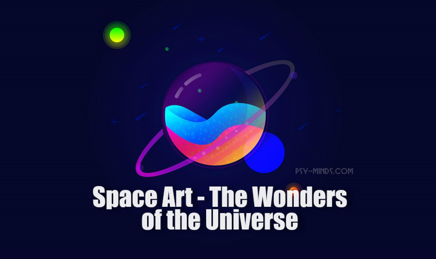 Space Art - The Wonders of the Universe
