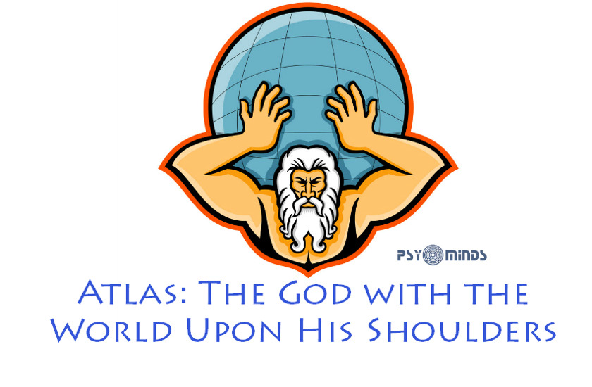 Atlas The God with the World Upon His Shoulders