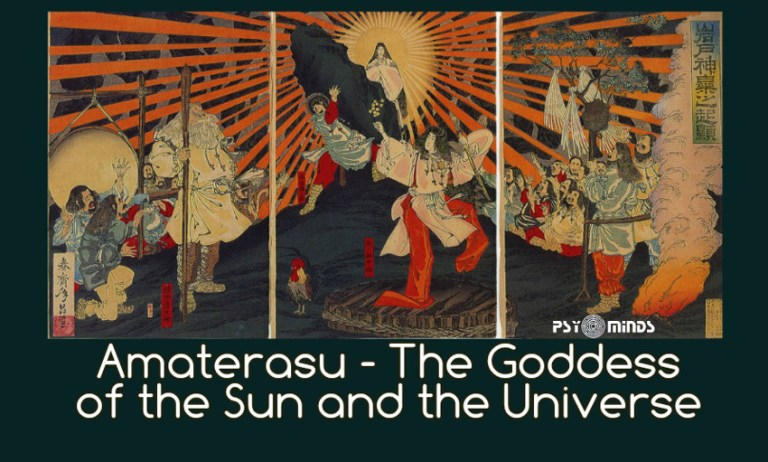Amaterasu – The Goddess of the Sun and the Universe