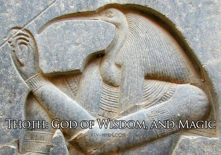 Thoth God of Wisdom, and Magic