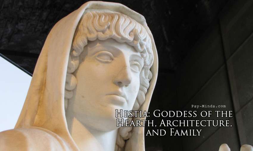 Hestia Goddess of the Hearth, Architecture, and Family