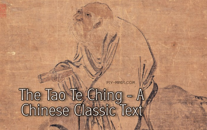 The Tao Te Ching - A Chinese Classic Text
