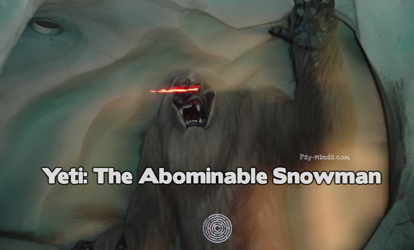 Yeti The Abominable Snowman