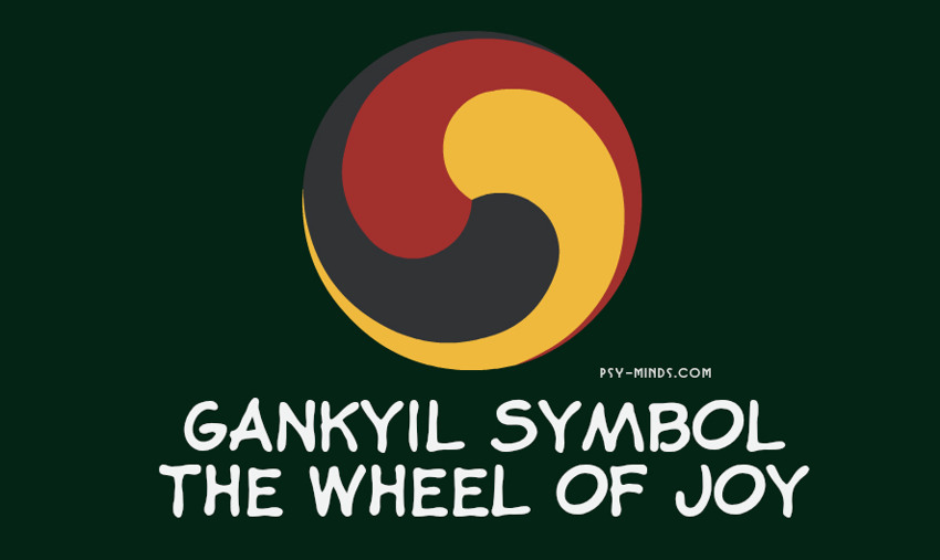 Gankyil Symbol - The Wheel of Joy