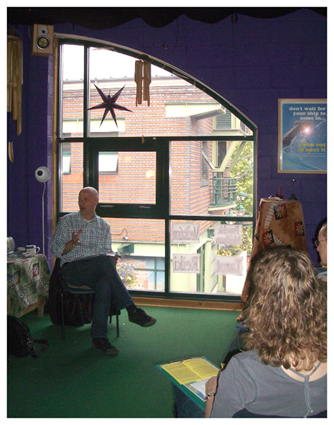 Workshop with Dr Gary Wood