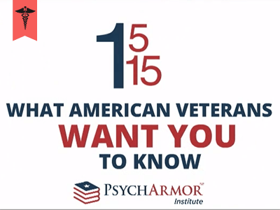 15 Things Veterans Want You to Know for Healthcare Providers course image