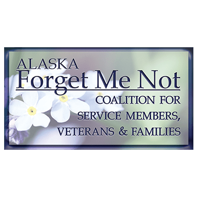 Alaska Forget Me Not Coalition for service members vetereans and families