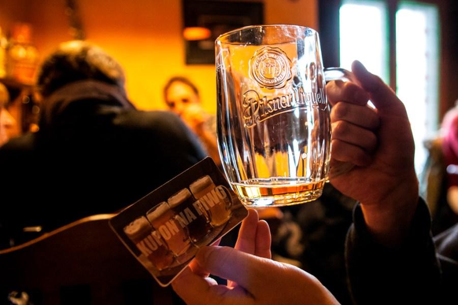 Kupon na piwo zrealizowany :)
