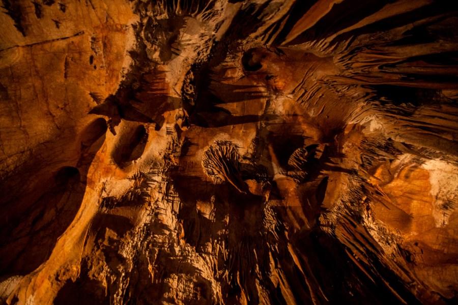 Jaskinia Domica - fantazyjne nacieki