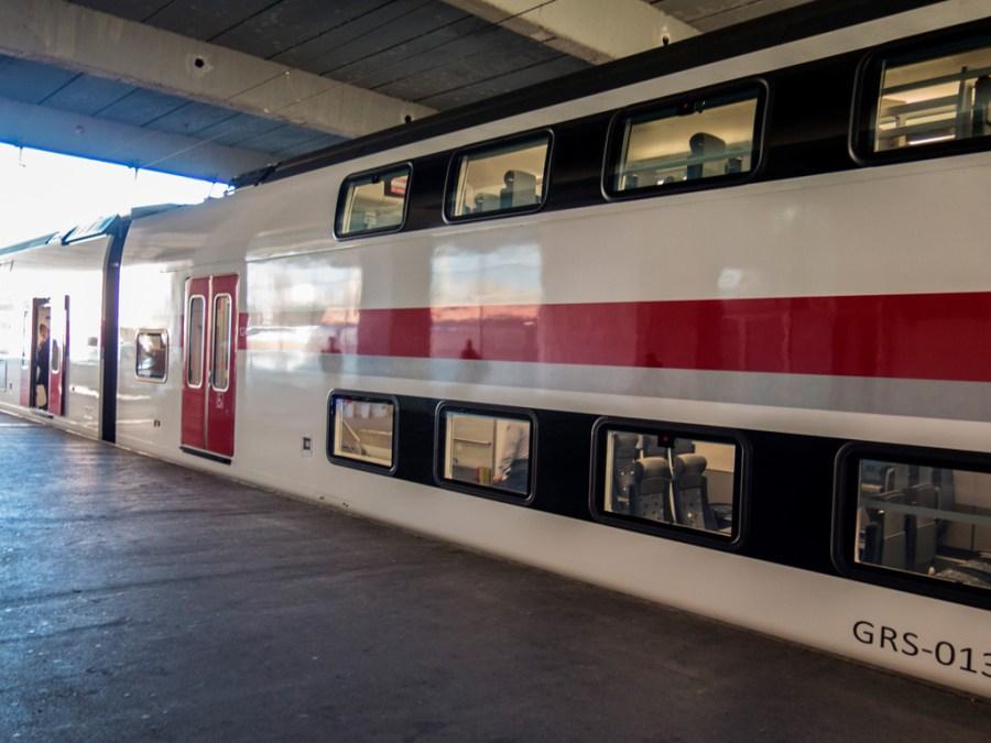 Wypasiony pociąg z Batumi do Tbilisi