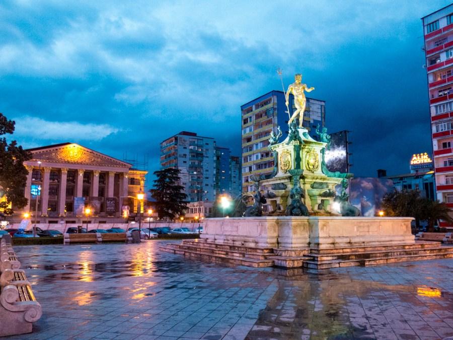 Batumi w deszczu