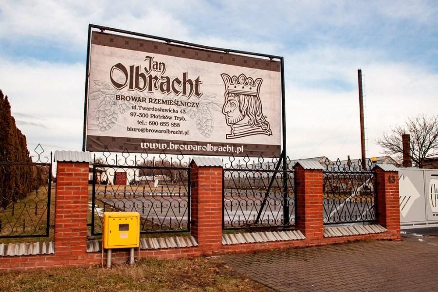 Browar Jan Olbracht - brama wjazdowa