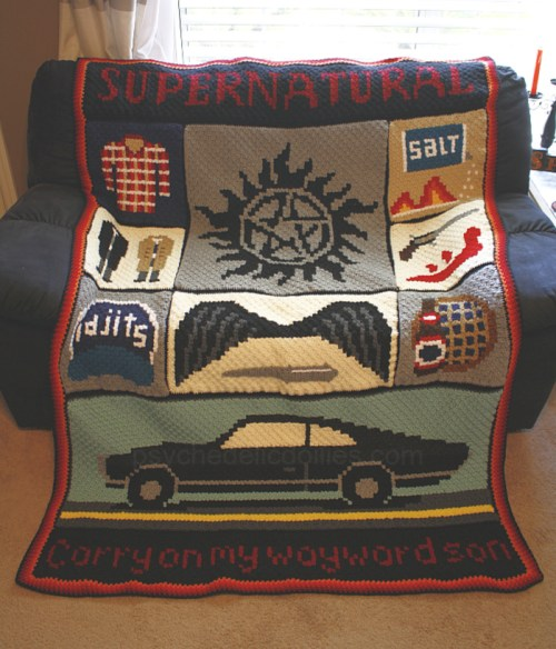 Supernatural Blanket Graphghan Crochet Pattern