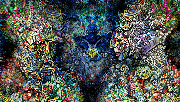 Ayahuasca Vision by Theodore Holdt