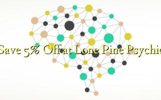Gem 5% Off ved Lone Pine Psychic