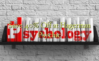 Save 40% Off at Hagerman Psychic