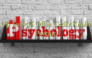 Up To 85% Off at Cedar Knolls Psychic