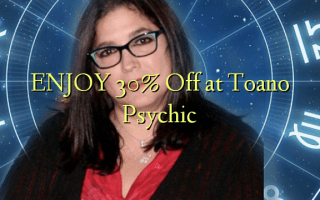 Nyd 30% Off på Toano Psychic