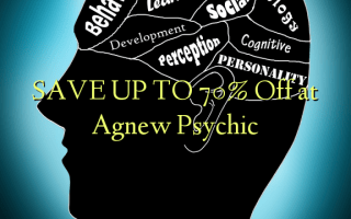 SAVE UP TO 70% Off at Agnew Psychic