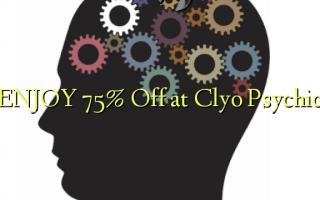 Furahia 75% Toa kwenye Clyo Psychic