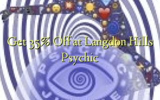 Få 35% Off ved Langdon Hills Psychic
