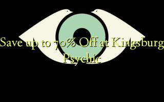 Spar op til 70% Off ved Kingsburg Psychic
