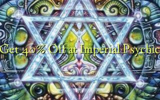 Ontvang 40% korting bij Imperial Psychic