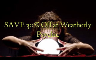 Gem 30% Off ved Weatherly Psychic