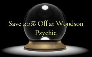 Gem 20% Off hos Woodson Psychic