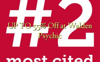 OP TIL 55% Off på Walden Psychic