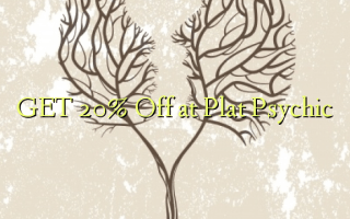 GET 20% Off at Plat Psychic