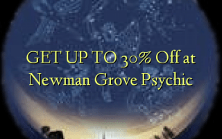 GET UP TO 30% Off at Newman Grove Psychic