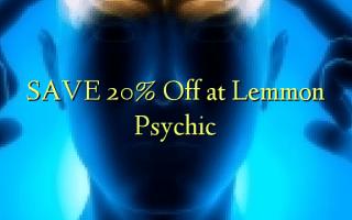 Gem 20% Off ved Lemmon Psychic