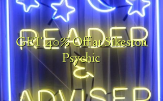 GET 40% Off at Sikeston Psychic