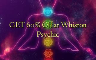 GET 60% Off at Whiston Psychic