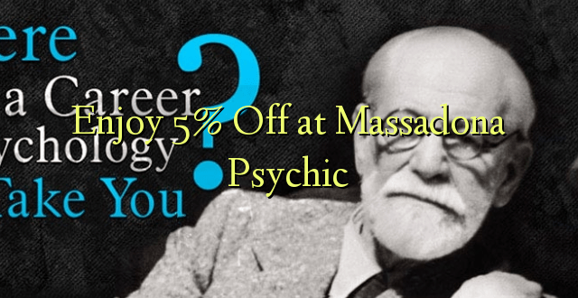 Enjoy 5% Off at Massadona Psychic