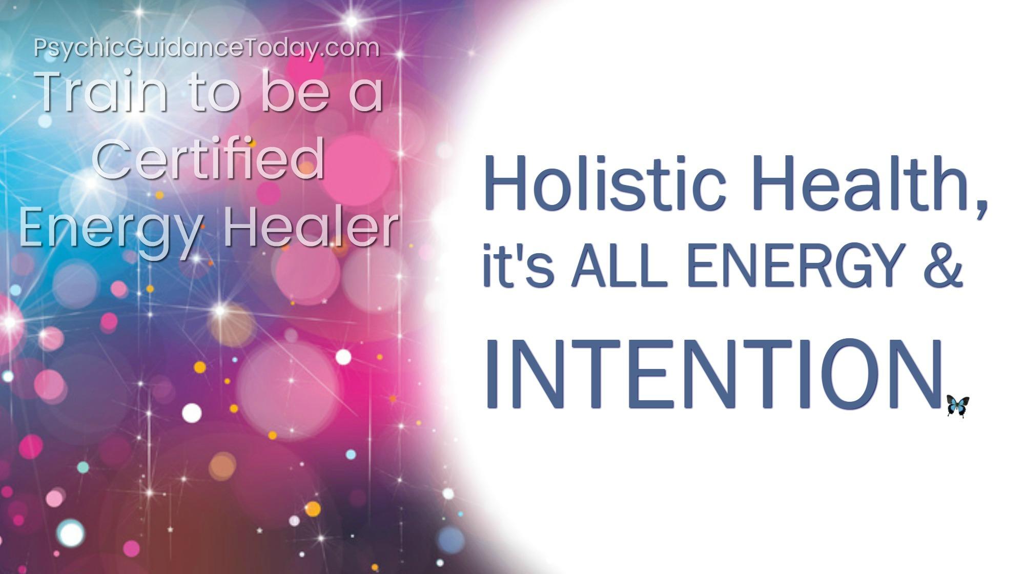 energy healer certification, psychic guidance, intuitive development