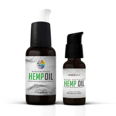 Nano-enhanced Hemp Oil