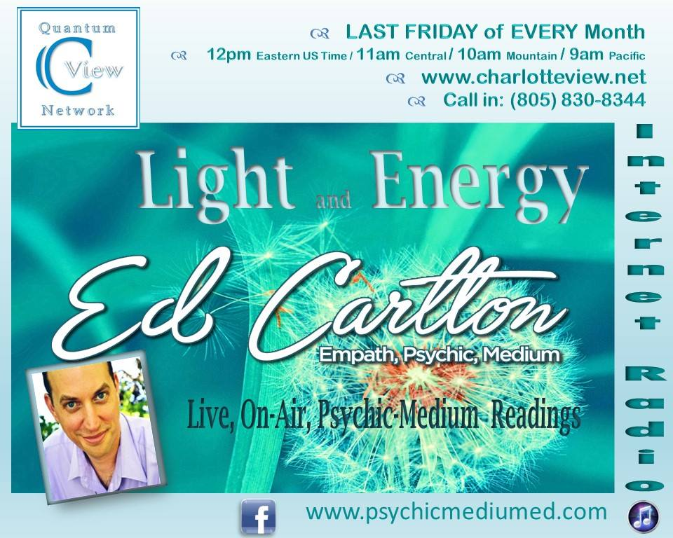 Psychic Medium Ed on C View Quantum Network