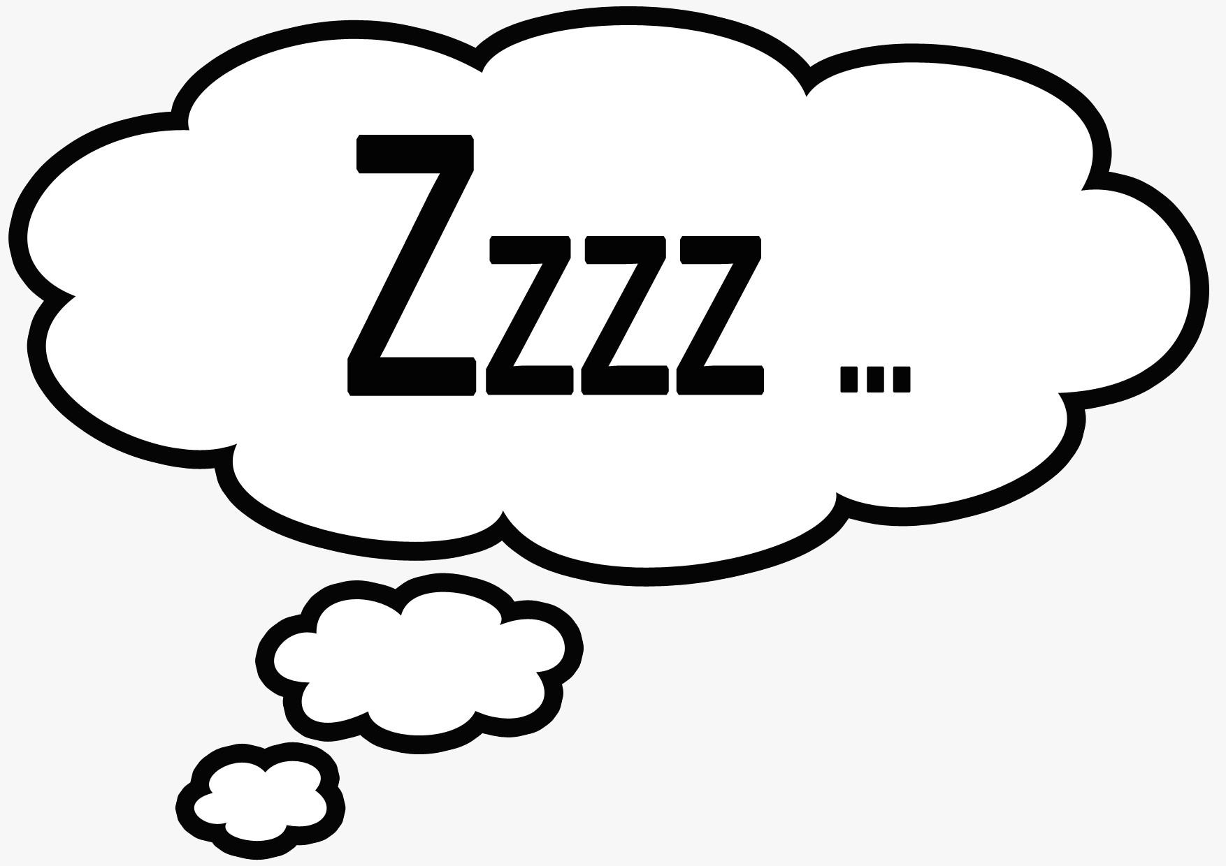 Sleeping Cartoon Zzz Naiqkh Clipart On Psychology And