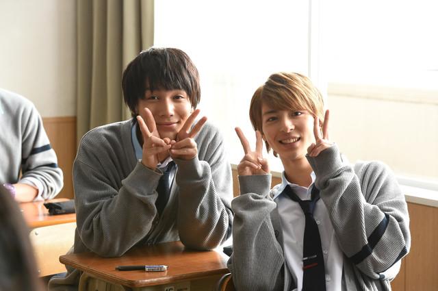 "Nakagawa Taishi and Takasugi Mahiro in ""ReLIFE"""