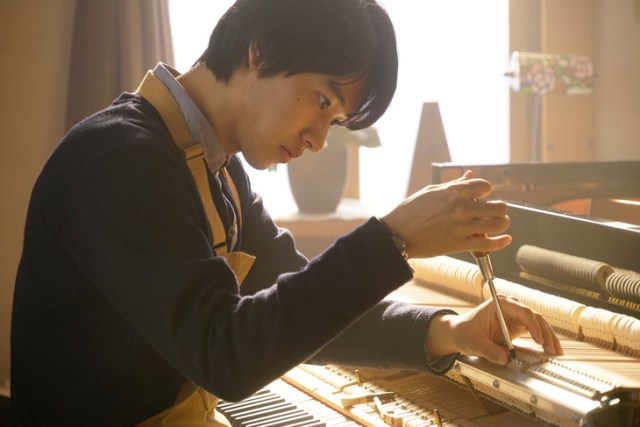 Yamazaki Kento in A Forest of Wool and Steel. (C) 2018 TOHO. All Rights Reserved.
