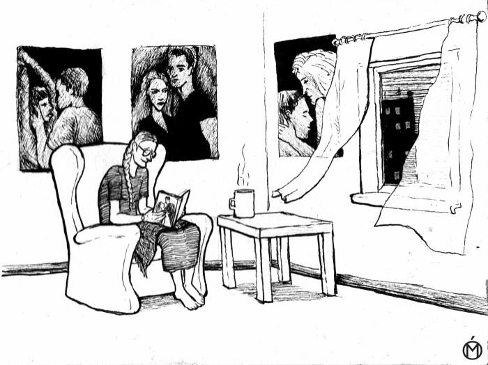 Негативные женские сценарии: барышня с книжкой