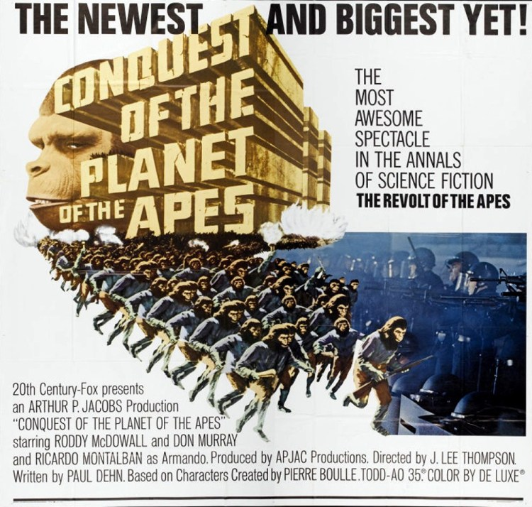 conquest of the planet of the apes 1