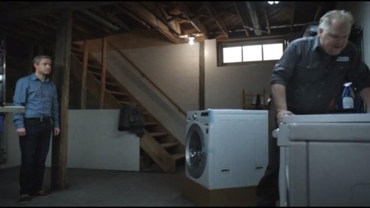 Lester's new washing machine