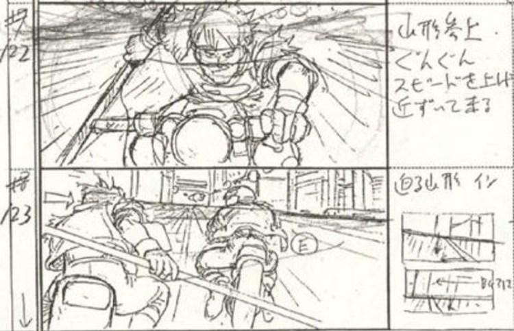 Akira-storyboard