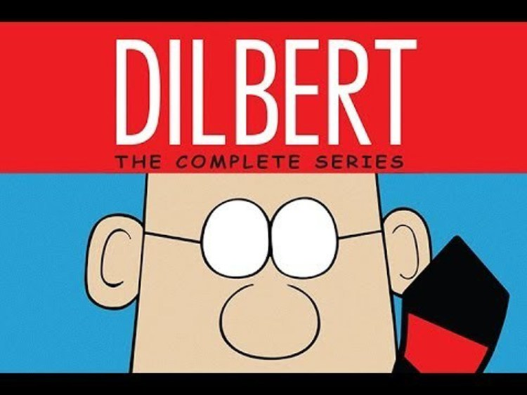 Dilbert-cartoon