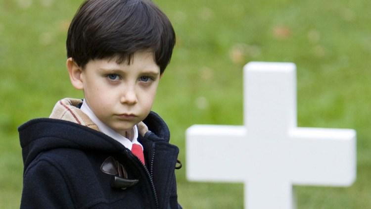 Damien (Seamus Fitzpatrick) in the Omen 666