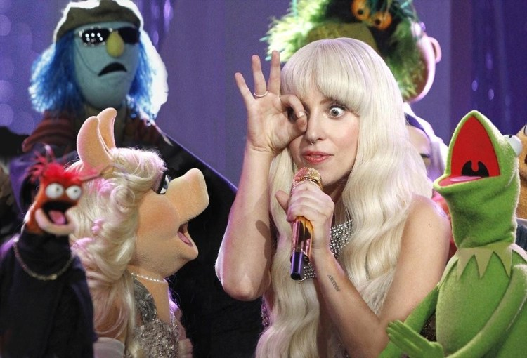 LADY GAGA, THE MUPPETS