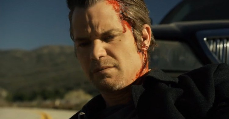 Raylan Is Shot in the Head